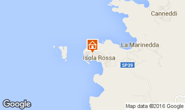 Map Isola Rossa One-room apartment 55748