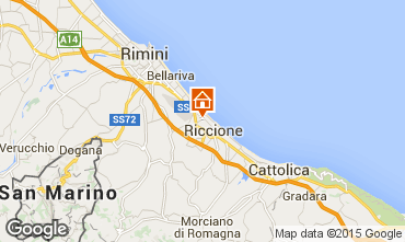 Map Riccione Apartment 41943