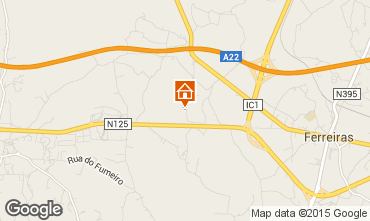 Map Albufeira Villa 67193