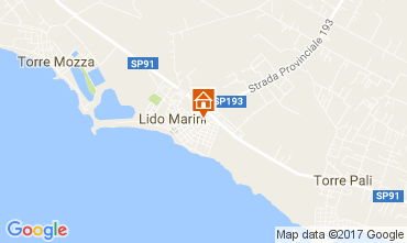 Map Lido Marini House 107649