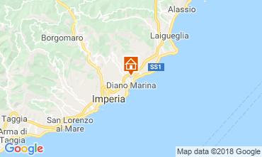 Map Diano Marina Apartment 117571