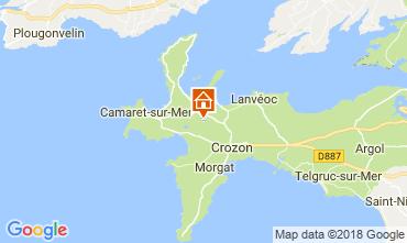 Map Camaret sur Mer House 114737