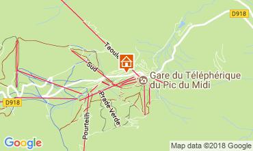 Map La Mongie Apartment 115586