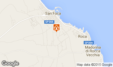 Map San Foca Apartment 79395