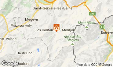 Map Les Contamines Montjoie House 16107