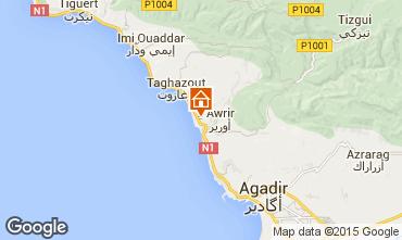 Map Agadir Apartment 33595