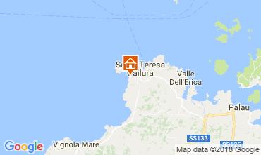 Map Santa Teresa di Gallura Apartment 114447
