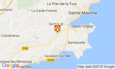 Map Saint Tropez Villa 64669