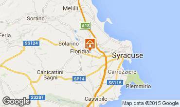 Map Syracuse Villa 101171