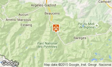 Map Luz Saint Sauveur Apartment 101494