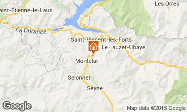 Map Saint Jean Montclar One-room apartment 59268