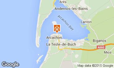 Map Arcachon Apartment 93023