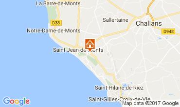 Map Saint Jean de Monts Mobile home 112267