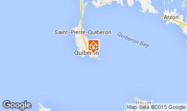 Map Quiberon Apartment 10698