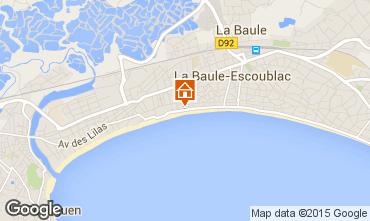 Map La Baule Apartment 17430