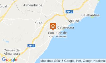 Map San Juan de los Terreros Apartment 116601