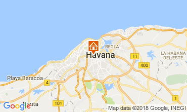 Map Havana Bed and breakfast 113566