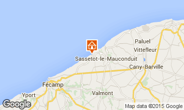 Map Fécamp Apartment 101508