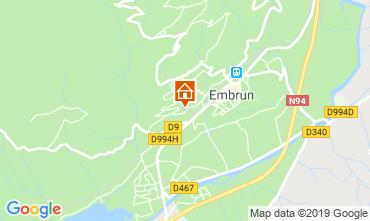 Map Embrun Apartment 118158