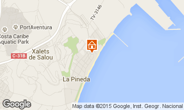 Map La Pineda Apartment 77600