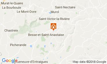Map Besse - Super Besse Apartment 113242
