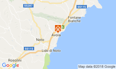 Map Avola Villa 115324