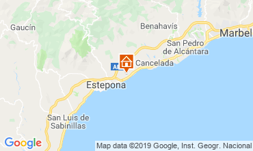 Map Estepona Villa 119361