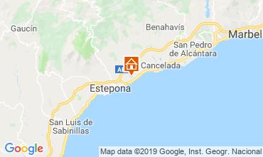 Map Estepona Villa 119361