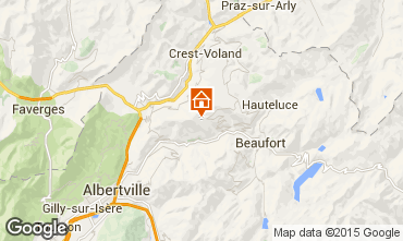 Map Les Saisies Apartment 66681