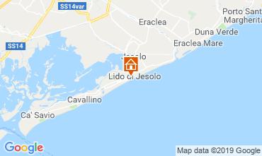 Map Jesolo Apartment 75928