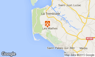 Map La Palmyre Mobile home 80969