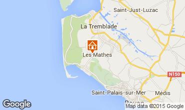 Map La Palmyre Mobile home 80969