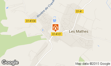 Map Les Mathes Mobile home 80969