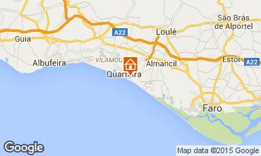 Map Quarteira Apartment 11203
