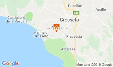 Map Grosseto Vacation rental 119147