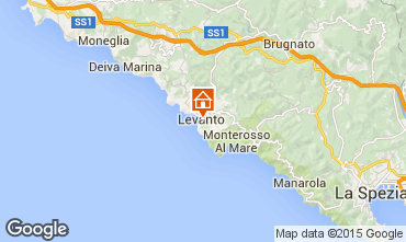 Map Levanto Apartment 75506