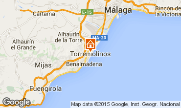 Map Torremolinos One-room apartment 45979