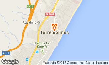 Map Torremolinos One-room apartment 45979