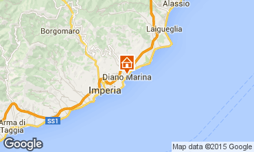 Map Diano Marina Apartment 94807