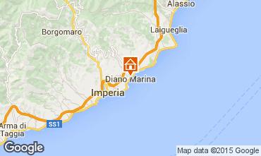 Map Diano Marina Apartment 94807
