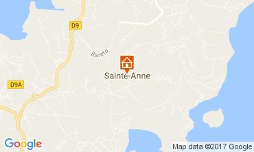 Map Sainte Anne (Martinique) Villa 107589