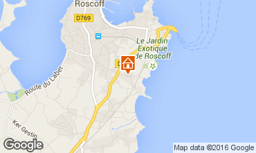Map Roscoff Villa 102643