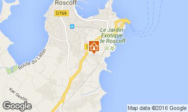 Map Roscoff Villa 102643