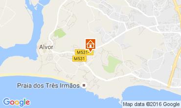 Map Alvor Apartment 106427