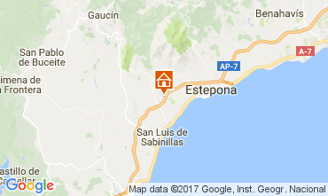 Map Estepona Apartment 108014