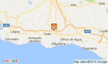 Map Albufeira Villa 58250