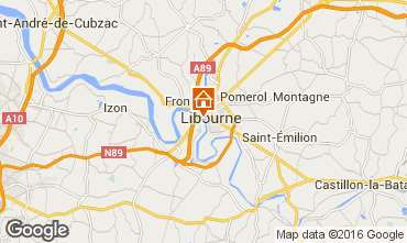 Map Libourne Bungalow 102547