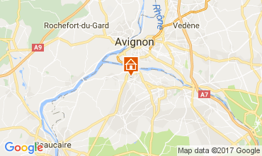 Map Saint Rémy de Provence Villa 111549