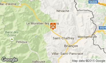 Map Serre Chevalier Chalet 2883