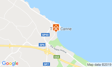 Map Torre Canne One-room apartment 109776